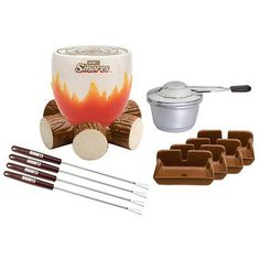 The Hershey's S'mores Maker Set Brings the Fun of a Campfire trendhunter.com