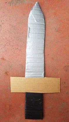 neat sword craft for a pirate or knight costume