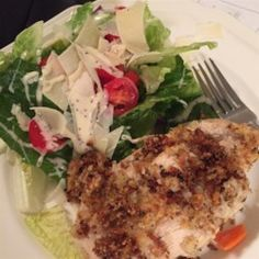 Baked Parmesan-Crusted Chicken - Allrecipes.com