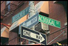 Greenwich Village, New York City Grew up on Bleecker Street in the Village Dad was musician