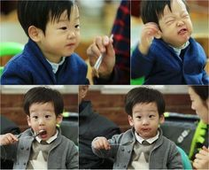 """The Twins of """"Superman Returns"""" Have Spicy Bulgogi for the First Time"""