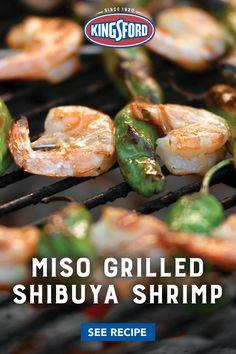 Sea Food Salad Recipes, Shrimp Recipes, Fish Recipes, Asian Recipes, Great Recipes, Weber Recipes, Seafood Dinner, Fish And Seafood, Kitchens