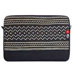 "Vietnam 5 Dep Sleeve for MacBook Pro 13"" - Socially Responsible Laptop Bags by Ethnotek - Direct Trade - Fair Trade - Social Entrepreneurs - Handmade Textiles - Global Artisans - Vietnamese Textiles - Travel Sleeve - Wanderlust - MacBook - Laptop Case - www.EthnotekBags.com"