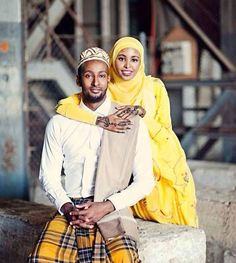 Muslim couple..