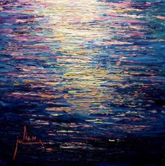 "My SEA painting - ""Anquilla Reflections"" by Wayne Hagan"