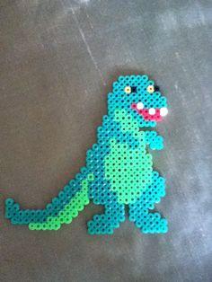Perler bead dinosaur by Alex