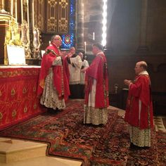 Procession and Solemn High Mass for the Feast of Pentecost: Whitsunday at St Clement's, Philadelphia, May 24, 2015.