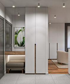 home decor ideas hallway Hall Wardrobe, Wardrobe Door Designs, Wardrobe Design Bedroom, Closet Designs, Entrance Foyer, House Entrance, Entryway Decor, Flur Design, Hallway Furniture