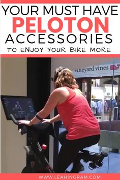 New to the Peloton? You'll want to invest in these best, must have Peloton bike accessories and essentials to make your ride hurt less and more enjoyable. Weight Loss Challenge, Weight Loss Plans, Weight Loss Program, Weight Loss Transformation, Weight Programs, Spin Bike Workouts, Peloton Bike, Ways To Stay Healthy, Exercises
