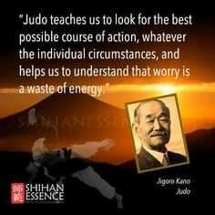 Judo teaches us