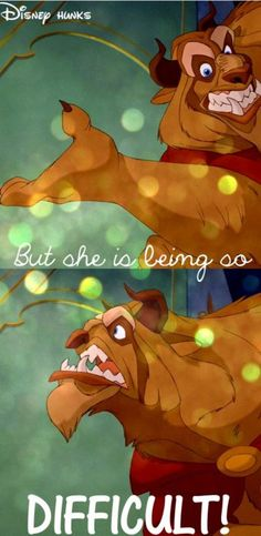 Haha Beauty and the Beast