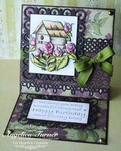 Click to Zoom: Bella Rose House Birthday Card