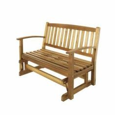 Plum Island Double Patio Glider-KTOB-1920-HDP at The Home Depot-very nice bench-looks great on the deck with our other furniture