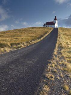 Ingjaldsholl Church at Hellisandur, on Border of Snaefellsjokull National Park