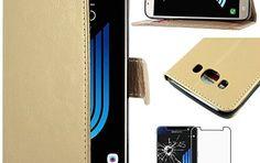 ebestStar – pour Samsung Galaxy J5 2016 SM-J510F – Housse Coque Etui Portefeuille Support PU Cuir + Film protection écran en VERRE Trempé:…