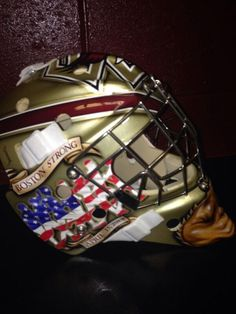 Thatcher Demko will likely be starting between the pipes for Boston College in the upcoming season, and he'll be taking the ice with one of the best masks in college hockey.