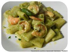 The Italian Food Diet Fish Recipes, Pasta Recipes, Cooking Recipes, Healthy Recipes, Zucchini, Best Italian Recipes, C'est Bon, How To Cook Pasta, I Love Food