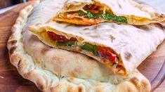 Taco Pizza, Pizza Hut, Pizza Sandwich, Homemade Alfredo, Arancini, Snack Recipes, Snacks, Giada De Laurentiis, Spanakopita