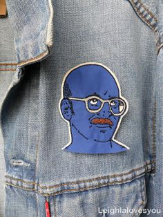 Tobias Funke Embroidered Patch/Brooch