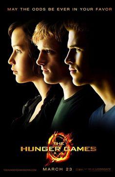 The Hunger Games: Katniss, Peeta, and Gale