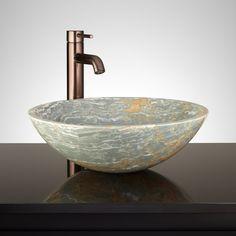 Nubia Round Blue Onyx Sink