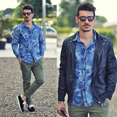 Xcape Shirt, Italia Independent Sunglasses, Leopoldo Shoes, Anerkjendt Jacket, Bellroy Wallet