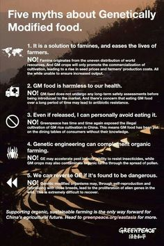 Gmo, the facts. Do some research, the information on this stuff will blow your mind, I know it blew my mind that's for sure.