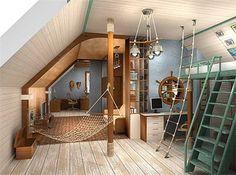 18 Inspiring Ideas Of A Marine Boy's Room Design | Kidsomania