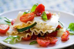 sauceless veg lasagna.. mmm!