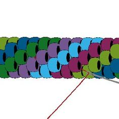 Crocheted Rope - Invisible Join : Step 14