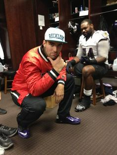 Joe Flacco Repping Young & Reckless