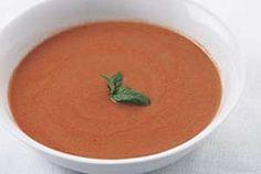 Fresh Tomato Basil Soup Recipe
