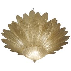 Stunning Barovier Murano Glass Chandelier   From a unique collection of antique and modern chandeliers and pendants  at http://www.1stdibs.com/furniture/lighting/chandeliers-pendant-lights/