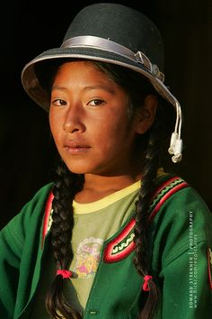 ˚Girl in Uros, Peru We Are The World, People Around The World, Peru Image, Peruvian People, Tribal People, People Of Interest, Portraits, Raw Beauty, Cultural Diversity