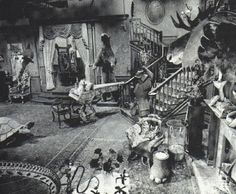 The Addams Family set