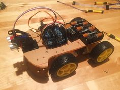 How to Build a Arduino Robot for Beginners Arduino Projects, Electronics Projects, Build A Robot, Science Projects For Kids, Building, Programming, Coding, School, Tips
