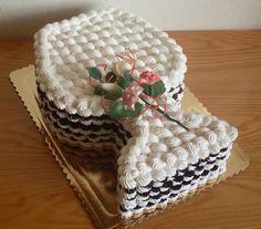Beautiful Cakes, Cake Cookies, Cake Designs, Ideas, Food, Decor, Tortilla Pie, Pastries, Baking Recipes
