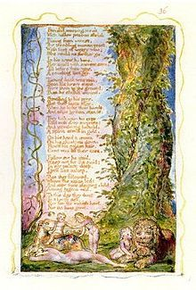 The Little Girl Found -- from Songs of Innocence and Experience -- by William Blake, 1794