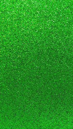 Green glitter St Patrick's phone wallpaper background