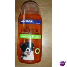 ANCOL DOG SHAMPOO & CONDITIONER TROPICAL FRUITS Listing in the Shampoo & Rinses,Grooming & Health Care,Dogs,Pets,Home & Garden Category on eBid United Kingdom | 137217629