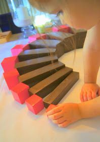 """Making Montessori Ours"": DIY Montessori Pink Tower & Brown/Broad Stair"