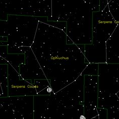 Constellations Pictures Gallery: Ophiuchus - Pictures and Information on the Constellation Ophiuchus