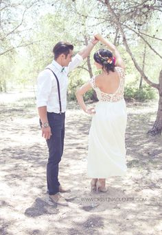 Especial #bodas by Hashtag. Una #boda #hippy, para unos #novios muy #casual
