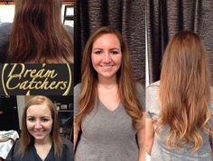 Reyna at our Hilsboro Village location made Kate's dream hair come true with 4 bundles of Dream Catchers Extensions.