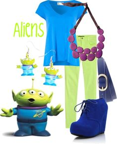 """Aliens"" by jami1990 ❤ liked on Polyvore"