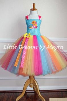 Vestido inspirado en Shopkins