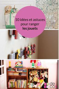 10 idées et astuces pour ranger les jouets // http://www.deco.fr/diaporama/photo-10-idees-astuces-ranger-jouets-79283/