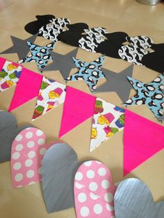 duck tape bunting
