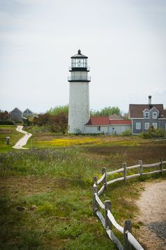 Oldest Lighthouse in Cape Cod... beautiful! I loved seeing it in person :)