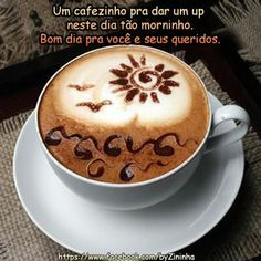 A coffee to give up this day as morninho.  Good morning to you and your loved ones.
